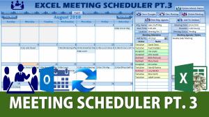 Excel Meeting Scheduler Part 3