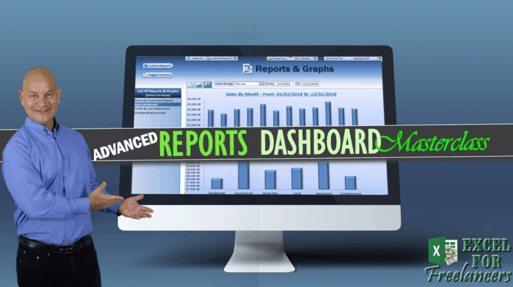 Advanced Excel Reports Dashboard Masterclass