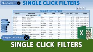 Single Click Filter
